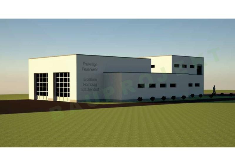 Neubau Gerätehaus