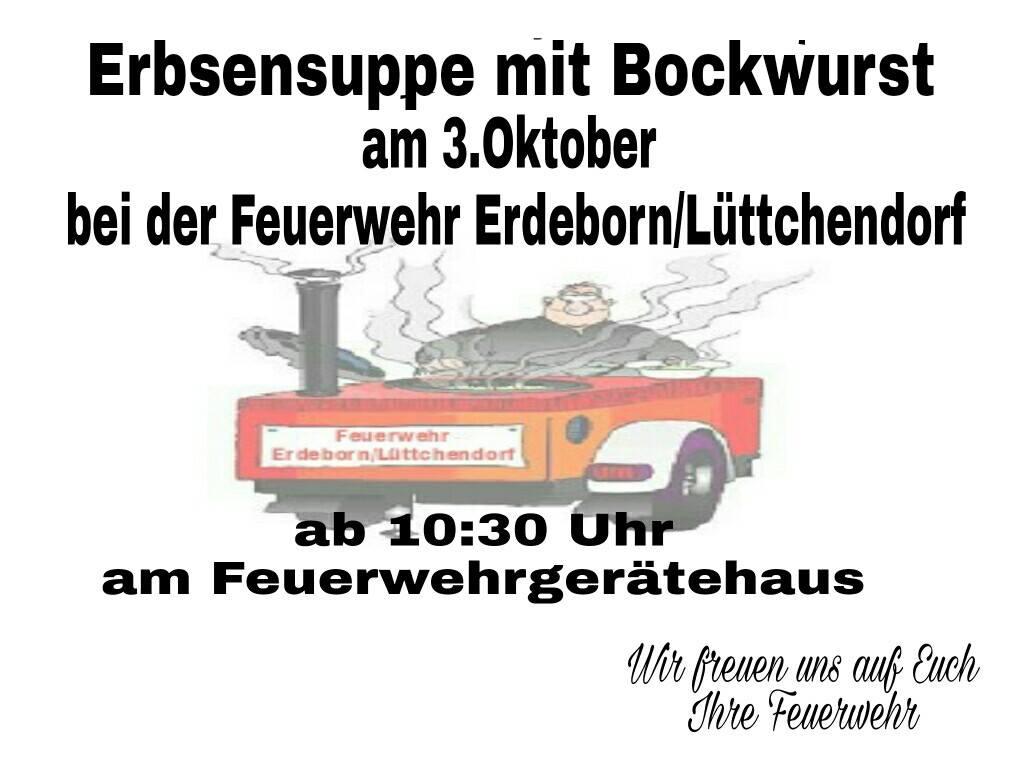 Erbsensuppe & Bockwurst